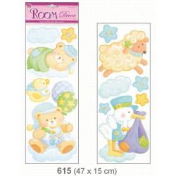 Pokojová dekorace - listela - medvídci