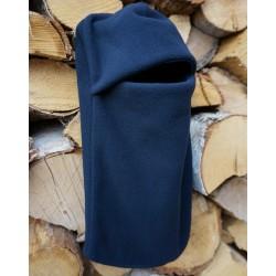 Kukla fleecová - tmavě modrá